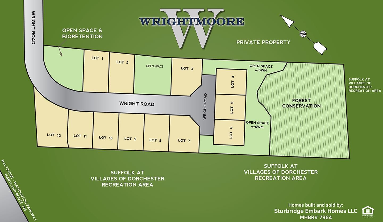 Wrightmoore  - Site Plan