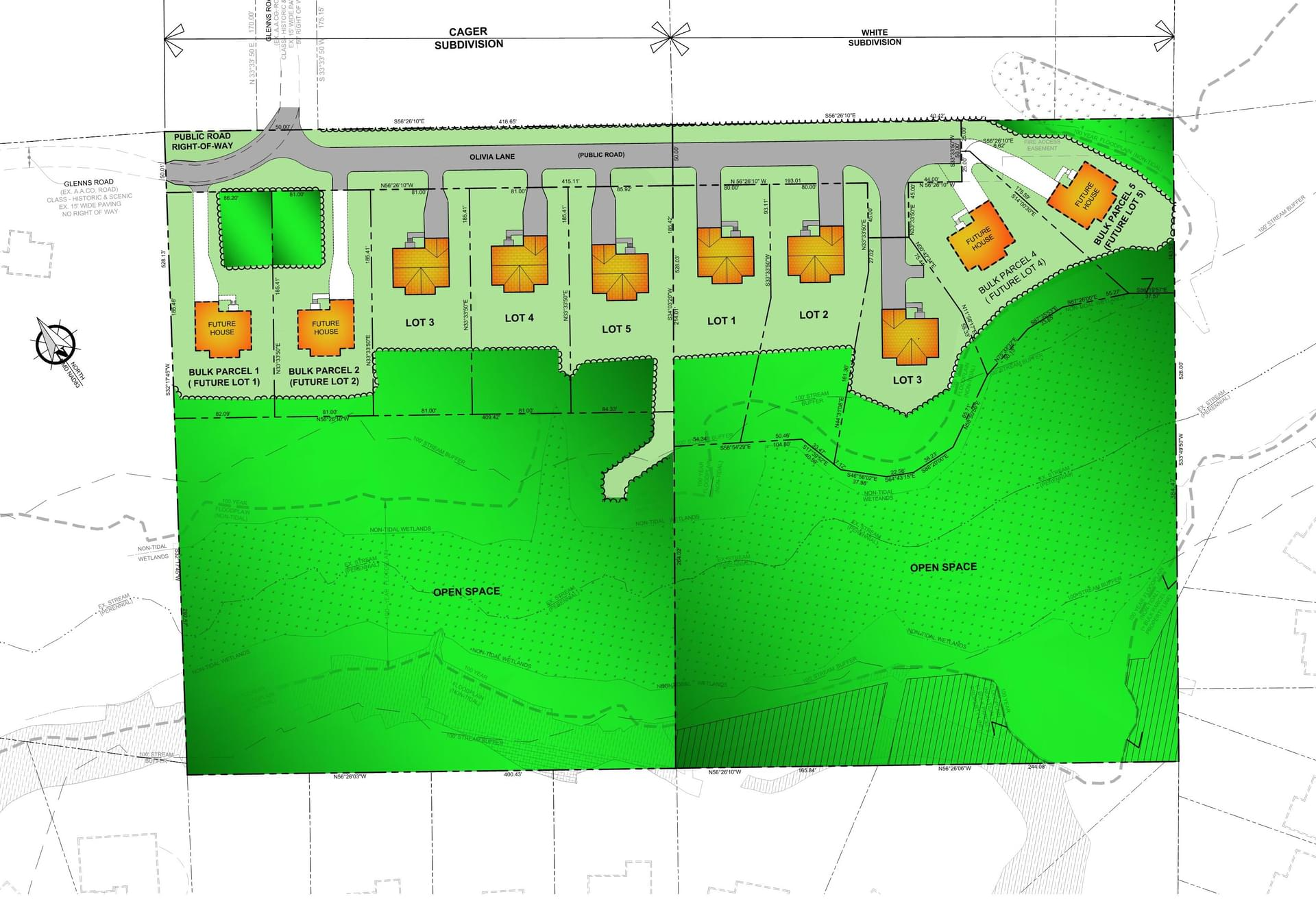 Cager and White Communities  - Site Plan