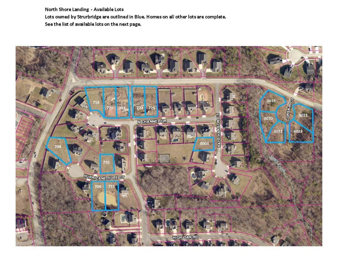 North Shore Landing  - Site Plan