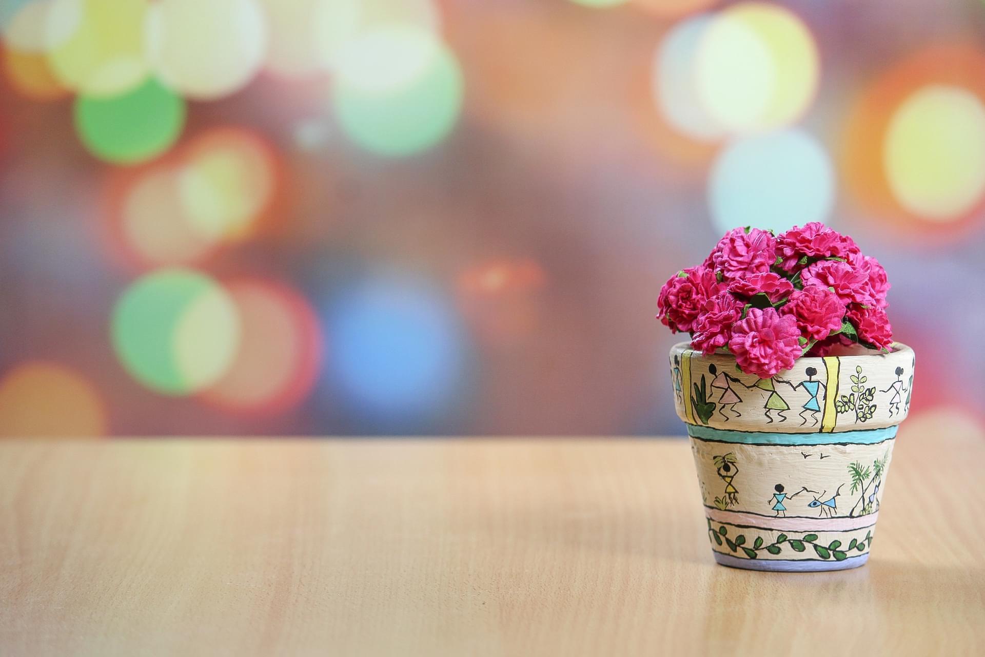 DIY Flower Pot Decorating